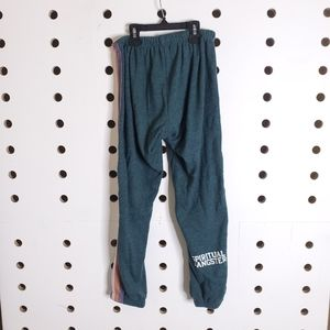 Spiritual Gangster Pants & Jumpsuits - Spiritual Gangster Perfect Stripe Green Sweatpants